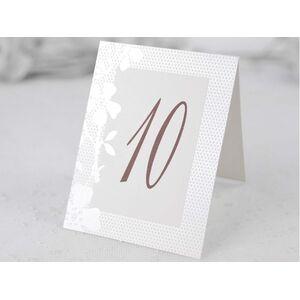 Număr masă elegant cod 1102