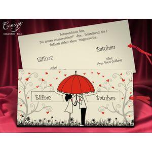 Invitatie nunta cod 5484