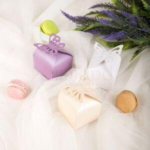 Marturie nunta cutiuta fluture dy14