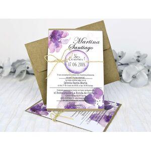 Invitatie de nunta cod 32635