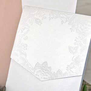 Invitatie de nunta cu elemente florale cod 39312