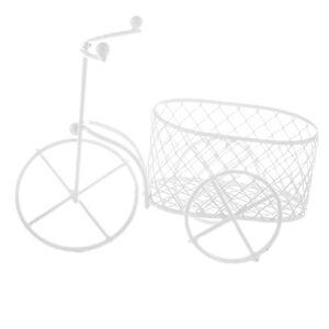 Bicicleta sarma alba cu cos oval