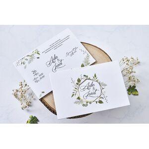 Invitatie nunta cod 1115