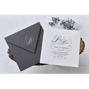 Invitatie nunta cod 1116