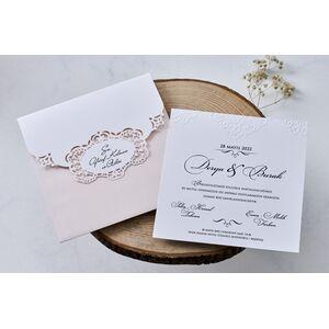 Invitatie nunta cod 1118