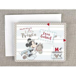 Invitatie botez 3D Mickey - micul print cod 15702