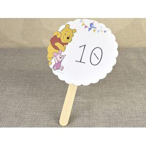 Numar de masa 'Winnie the Pooh' cod 1729