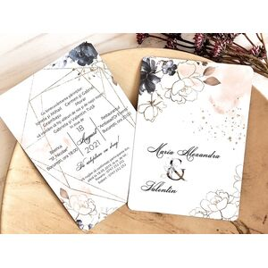 Invitatie de nunta cod 39765
