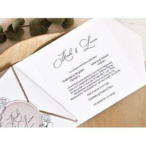 Invitatie de nunta cod 39772