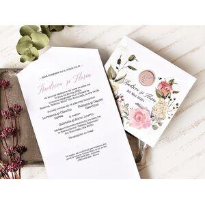Invitatie de nunta cod 39777