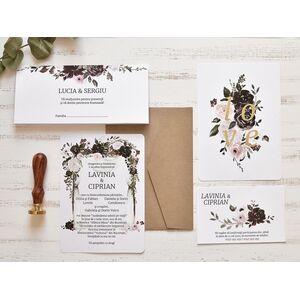 Invitatie de nunta cod 39780