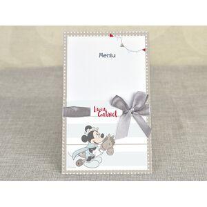 Meniu botez 'Mickey - micul print' cod 3702