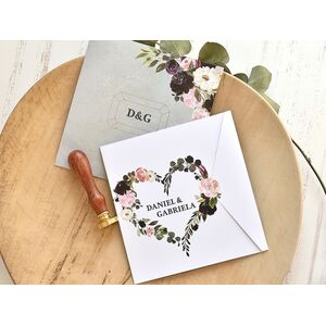 Invitatie de nunta cod 39775