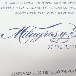 """Invitatie de nunta """"Premium I"""" 39709"""