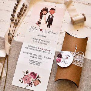 Invitatie nunta cod 39801