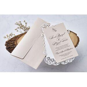 Invitatie nunta cod 1113