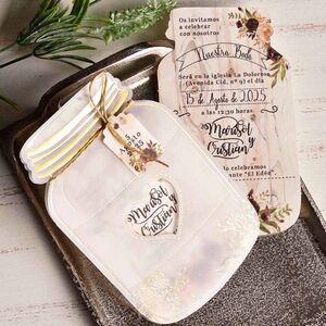 Invitatie nunta calc borcanul cu miere cod 39827