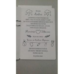 Invitatie nunta si botez cod 39853