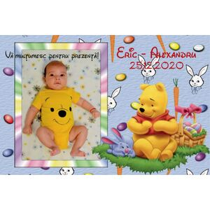 Marturie magnet Winnie the Pooh