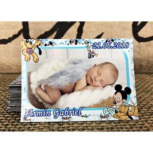 Magnet Baby  Mickey&Pluto