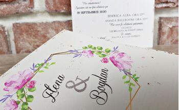 Invitatie de nunta cod 5638