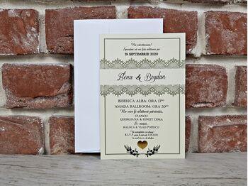 Invitatie de nunta cod 5610