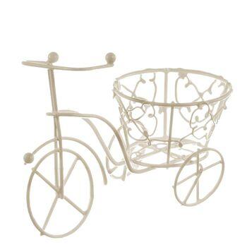 Bicicleta sarma crem cu cos conic