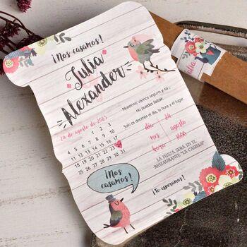 Invitatie nunta cod 39813
