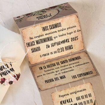 Invitatie nunta cod 39800